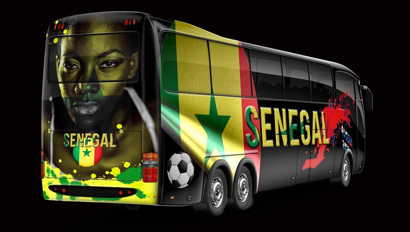 Fussball wird in Dakar zelebriert